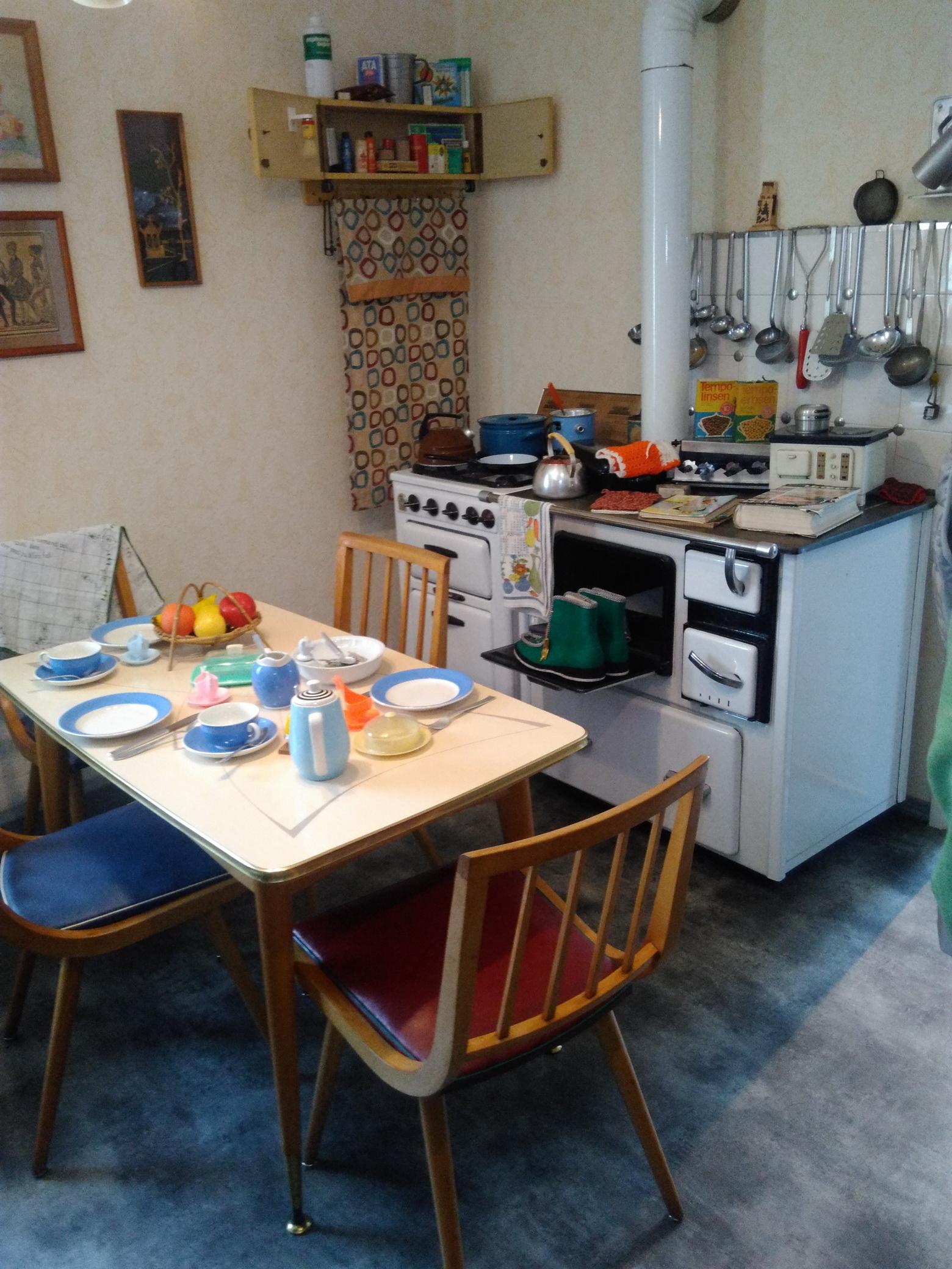 Küche von 1960